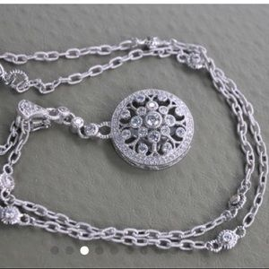 Judith Ripka Sterling silver necklace